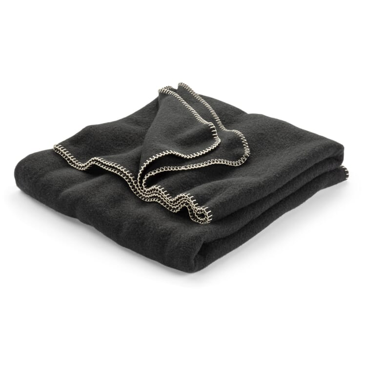 New Wool Blanket, Anthracite