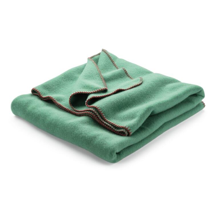 New Wool Blanket, Sage