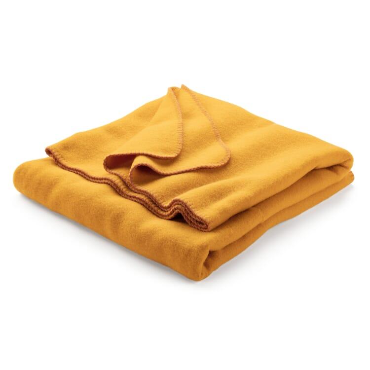 New Wool Blanket, Yellow