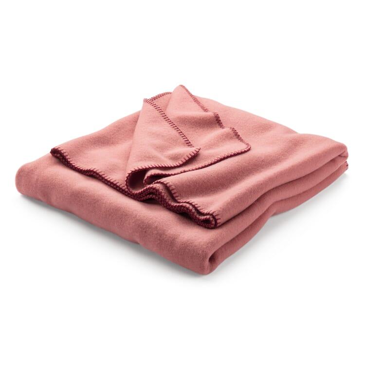 New Wool Blanket, Pink