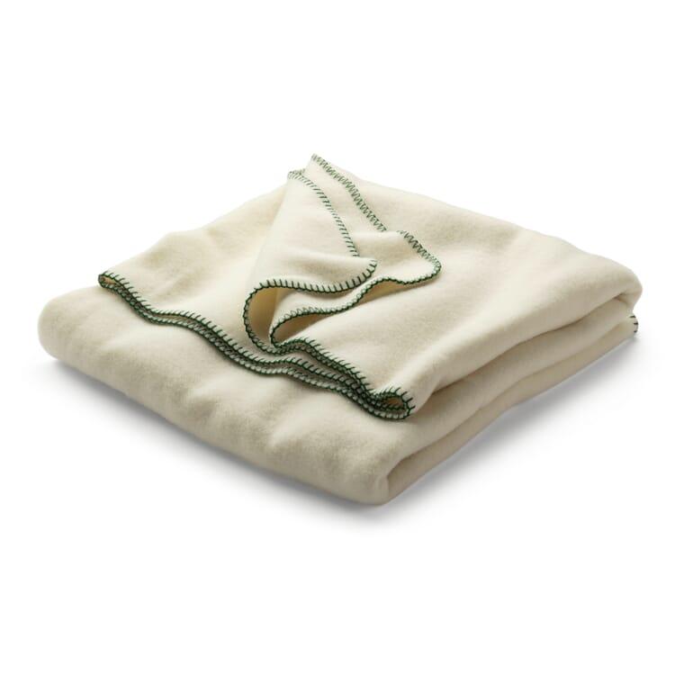 New Wool Blanket, White