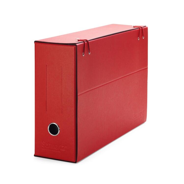 Fächerordner Karton Rot