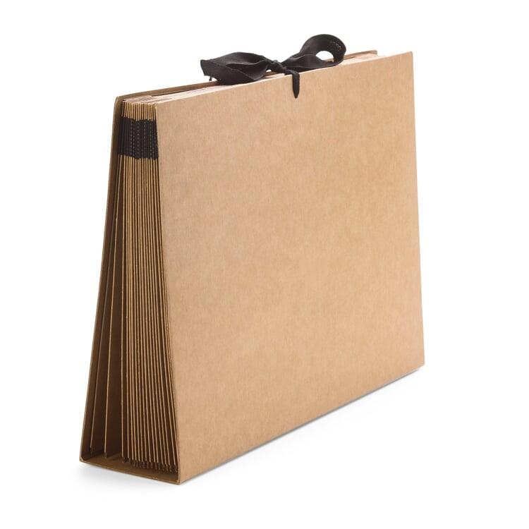 Pultordner Karton A4 Braun