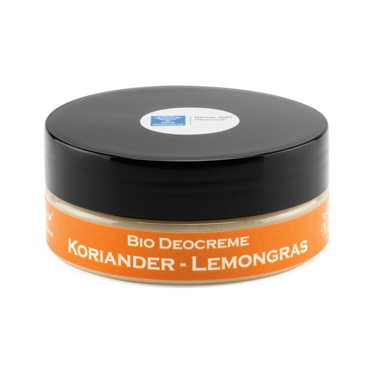 Organic Deodorant Cream Coriander-Lemon Grass