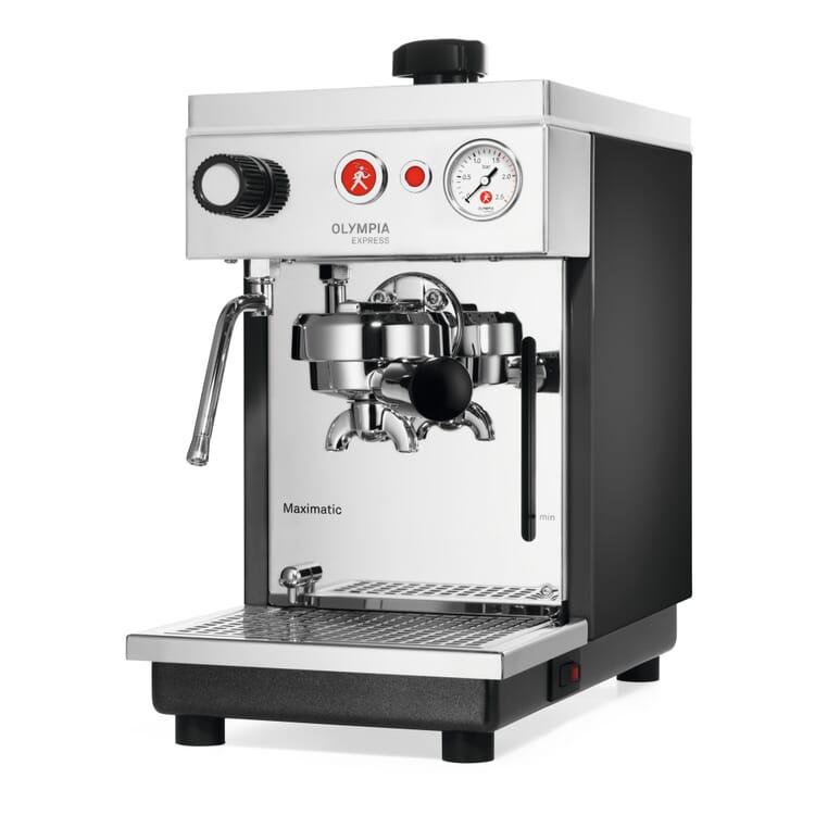 Olympia Maximatic Espresso-Halbautomat, Anthrazit