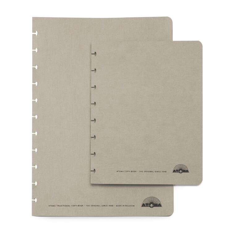 Set of A5 Texon Covers, Grey