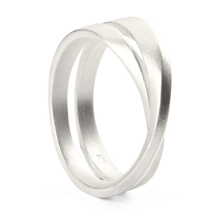 Möbius Ring Silver 18 mm