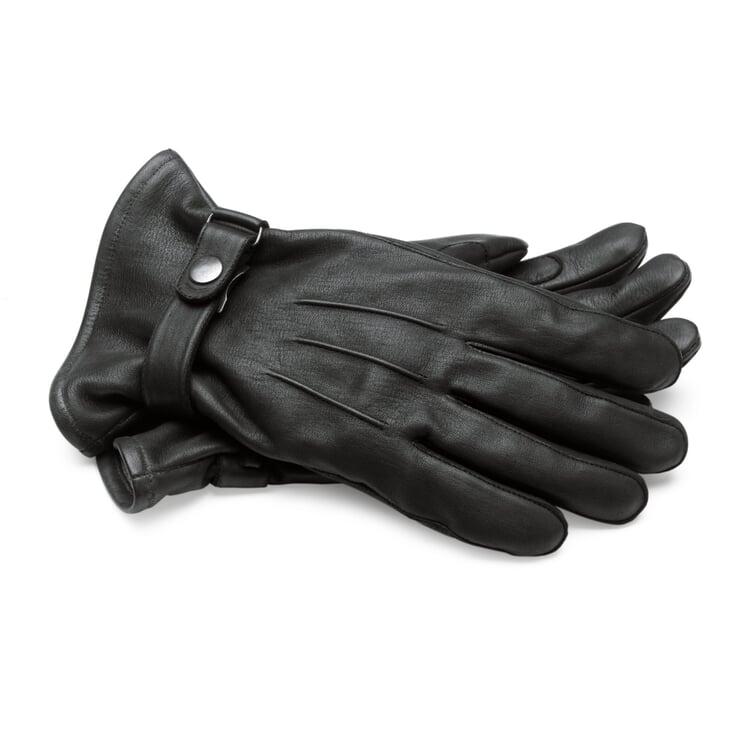 Herrenhandschuh Pferdeleder, Schwarz