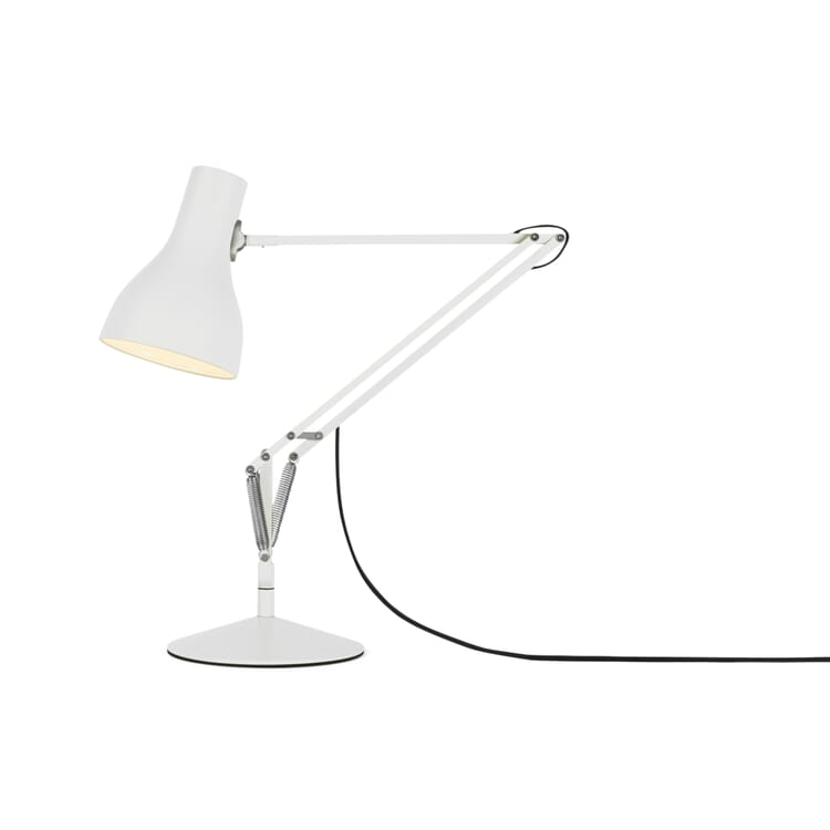 Tischleuchte Anglepoise® Typ 75, Mattweiß