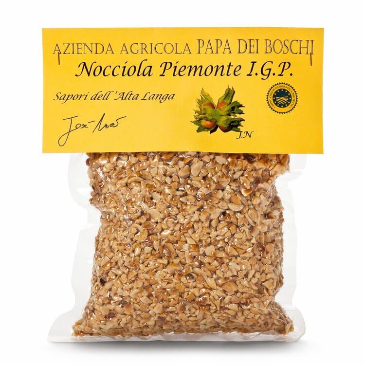 Piemonteser Haselnüsse gehackt