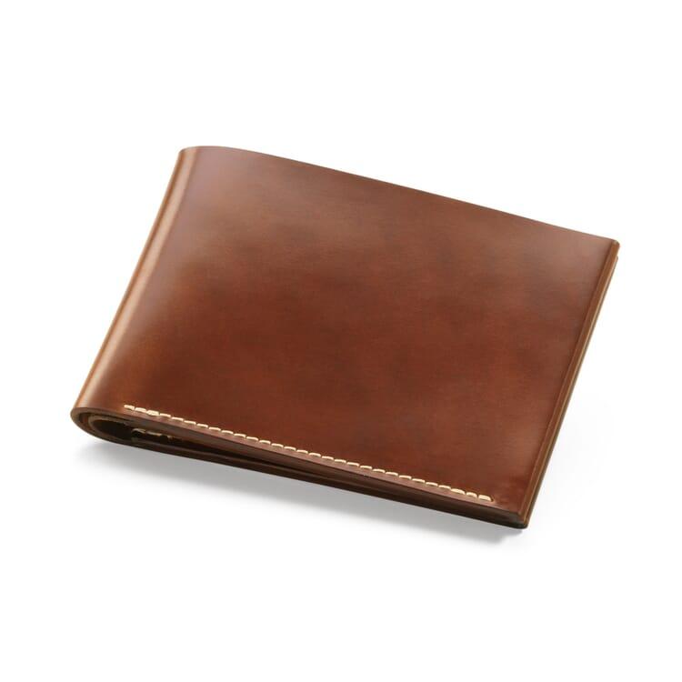 Cognac Cordovan Gentlemen's Wallet