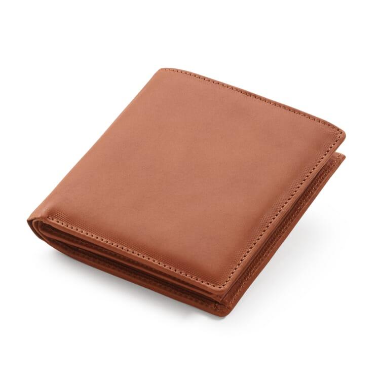 Geldbörse mit Einschub Rentierleder, Hellbraun