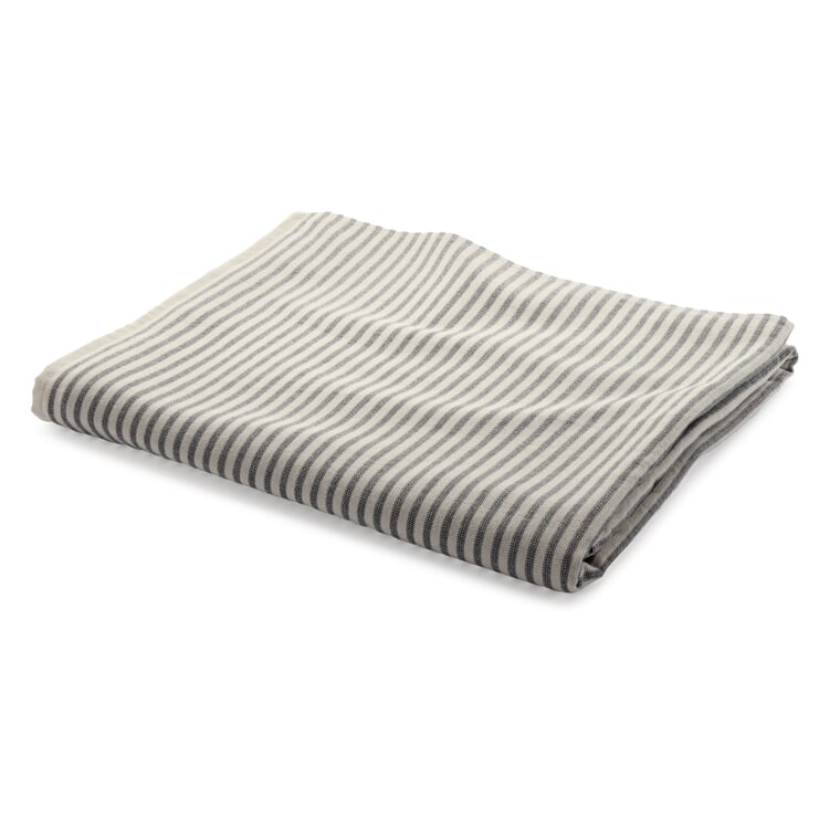 Striped Terry Towel by Framsohn Fine Stripes Bath Towel