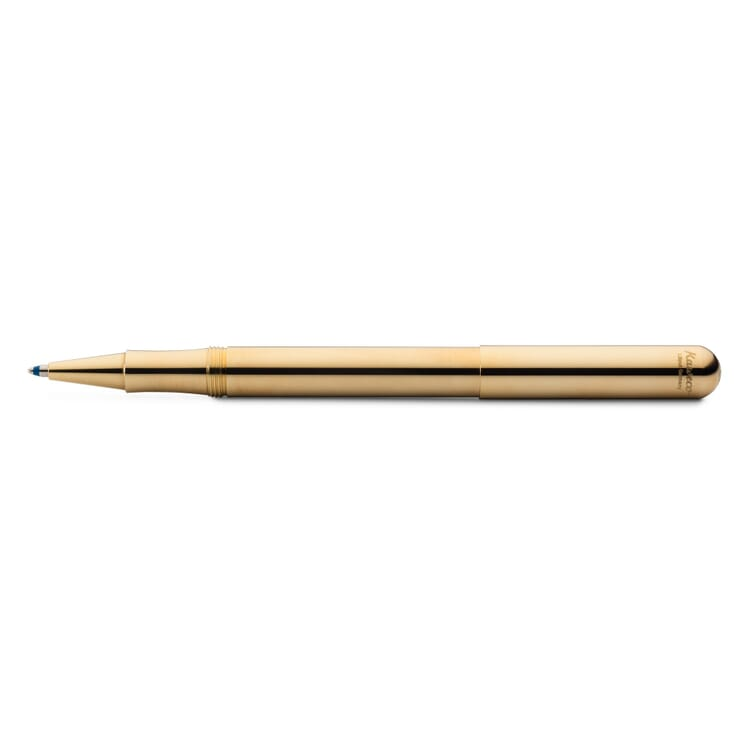 Kaweco Liliput Kugelschreiber Messing mit Kappe