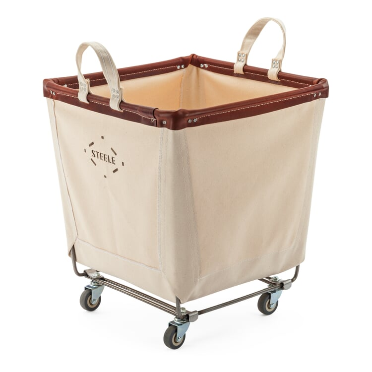 Steele Canvas Basket with Wheels