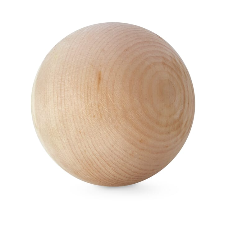 Wooden Sphere Made from Stone Pine