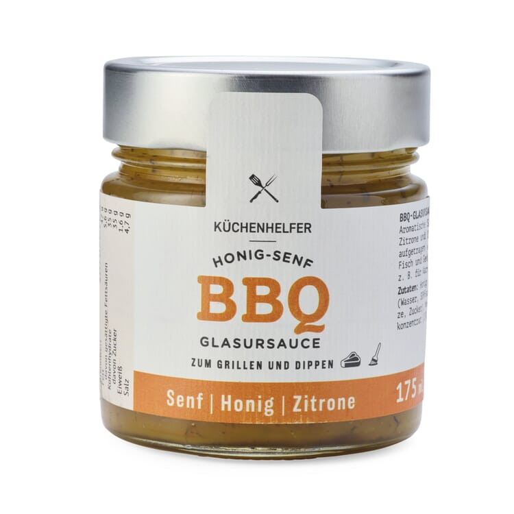 Honig-Senf-Glasursauce