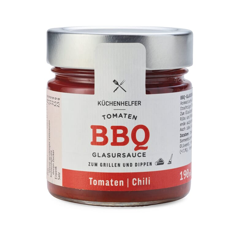 Tomaten-Barbecue-Chili-Glasursauce