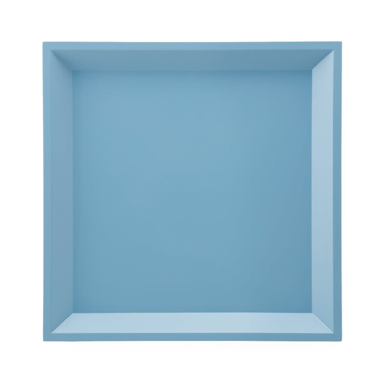 Side Table Modular Tray Square Blue