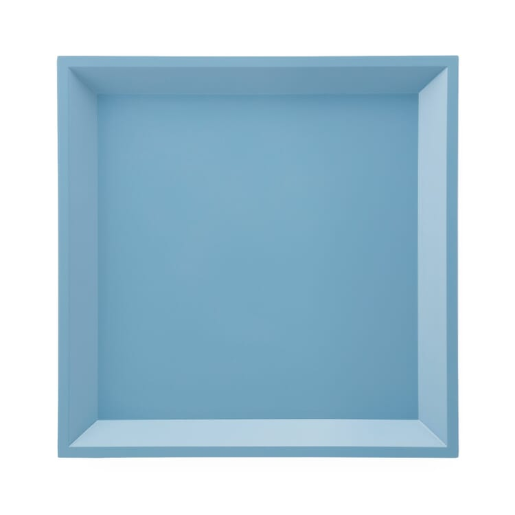 Side Table Modular Tray Square, Blue