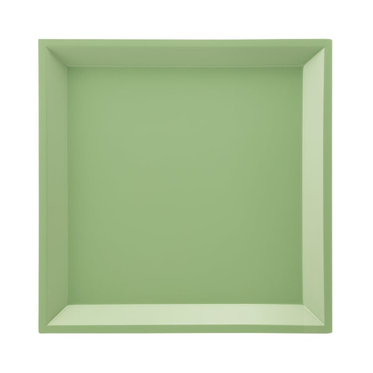 Side Table Modular Tray Square Green