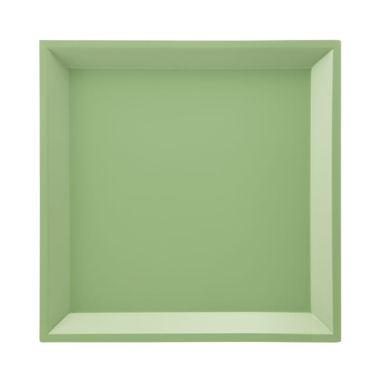 Side Table Modular Tray Square, Green