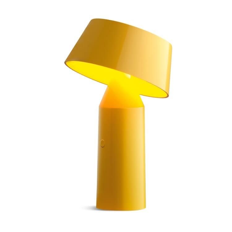 Tischleuchte Bicoca, Gelb