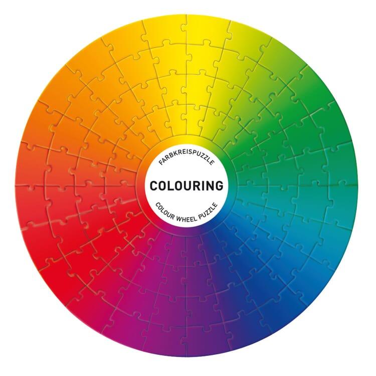 Puzzle Farbkreis Colouring