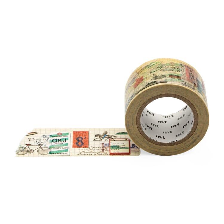Papierklebeband Travel