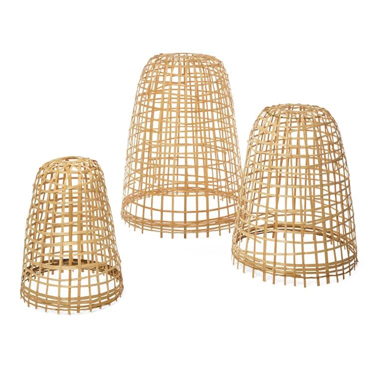 Schutzhauben für Pflanzen Bambus