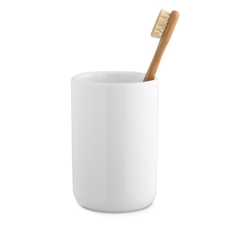 Toothbrush Mug Zangra, White