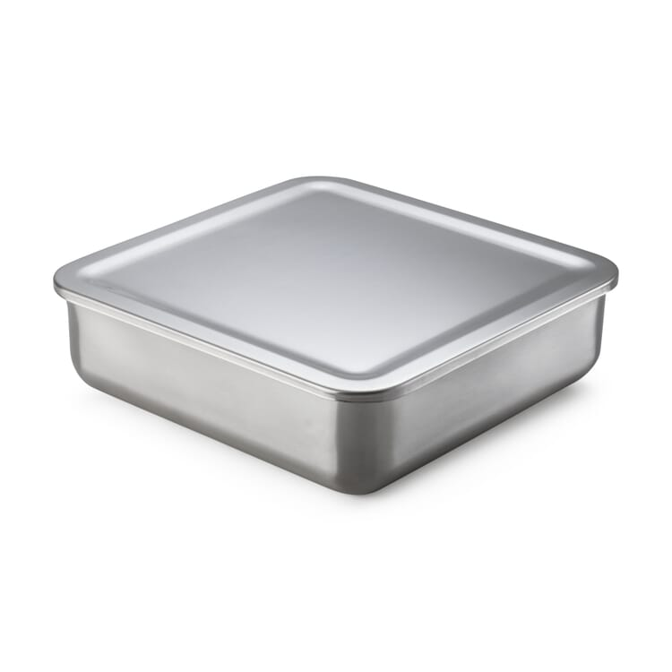 Stainless Steel Storage Tin, 1750 ml