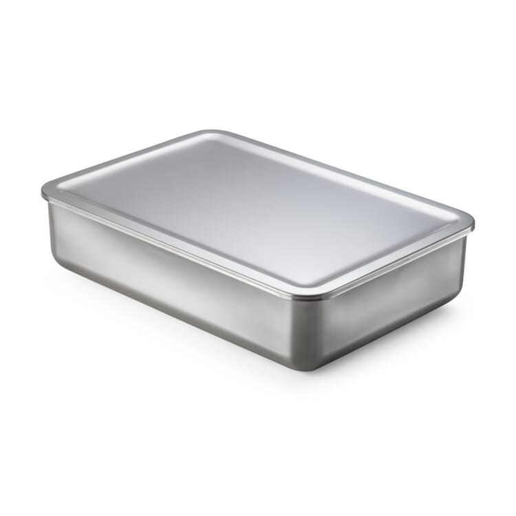 Stainless Steel Storage Tin, 2900 ml