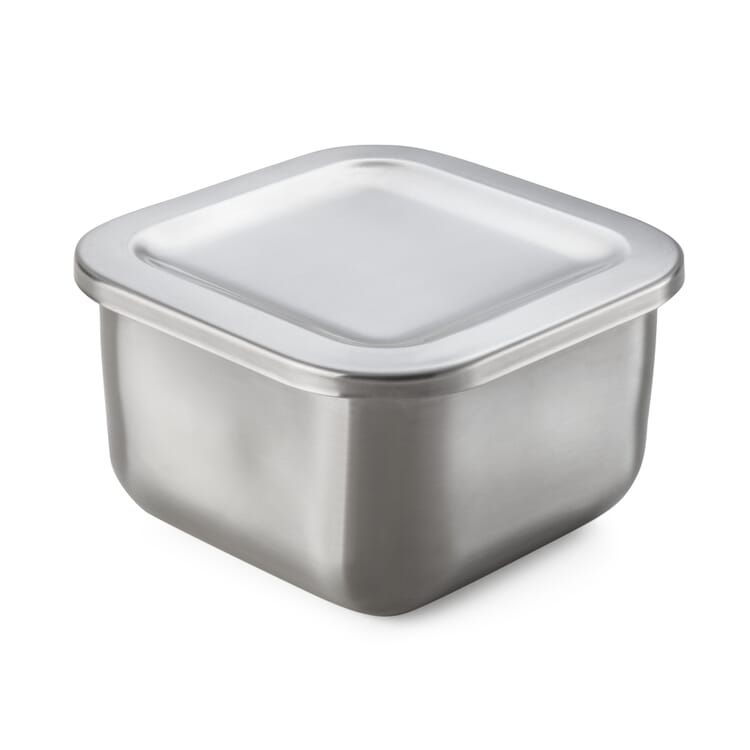 Stainless Steel Storage Tin, 370 ml