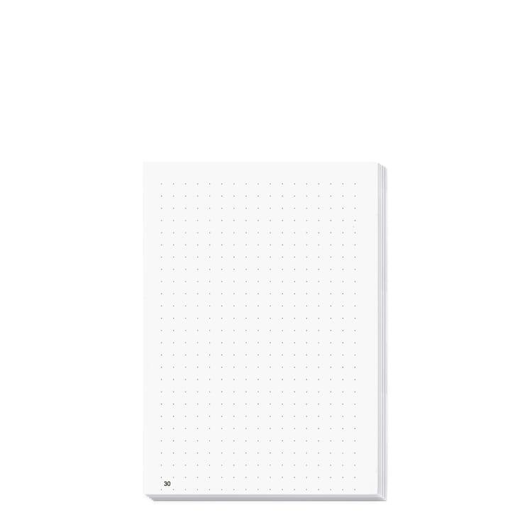 X47 Notebook Inserts A6, Polka Dots