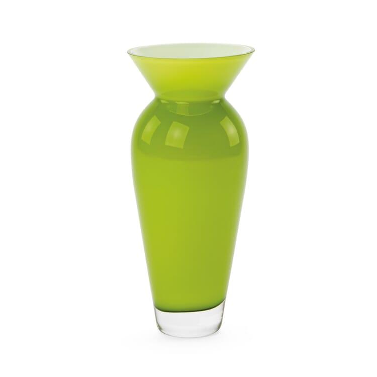 Large Vase Bulbous Form, Green