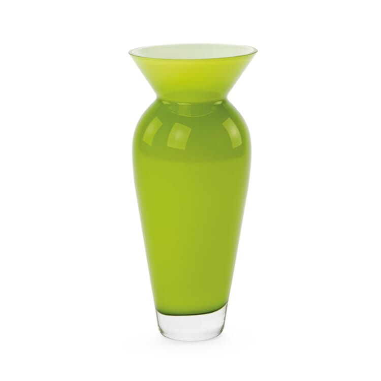 Vase bauchig groß, Grün