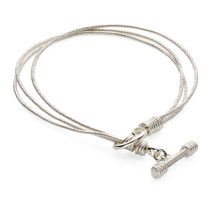 Armkette Silber dreifach
