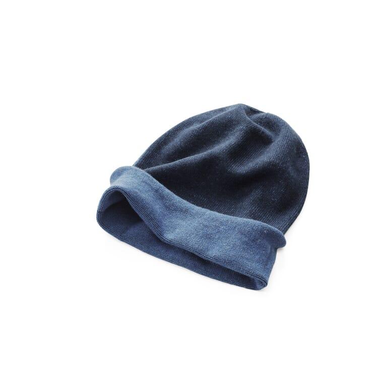 Knitted Cap by Seldom, Navy Blue-Medium Blue