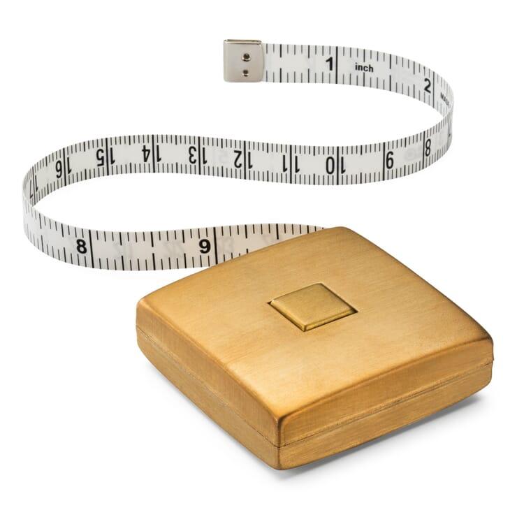 Measuring Tape in a Brass Casing