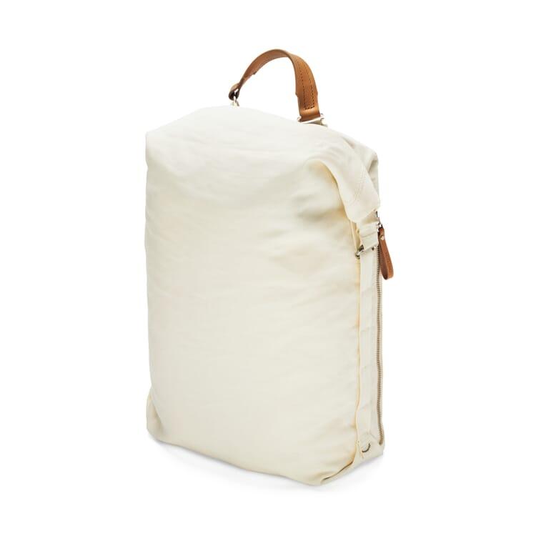 Backpack Roll Pack Bananatex, White