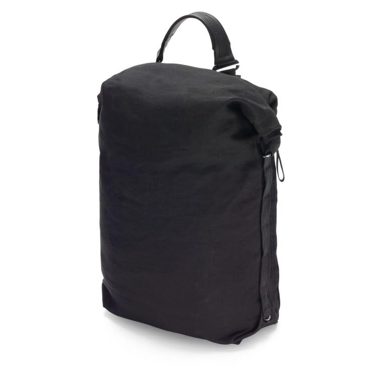 Backpack Roll Pack Bananatex, Black