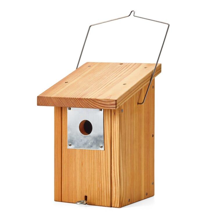 Larch nesting box