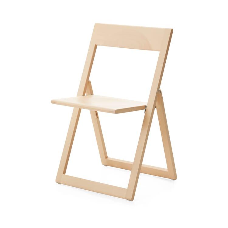 Foldable Chair Aviva, Clear Varnish