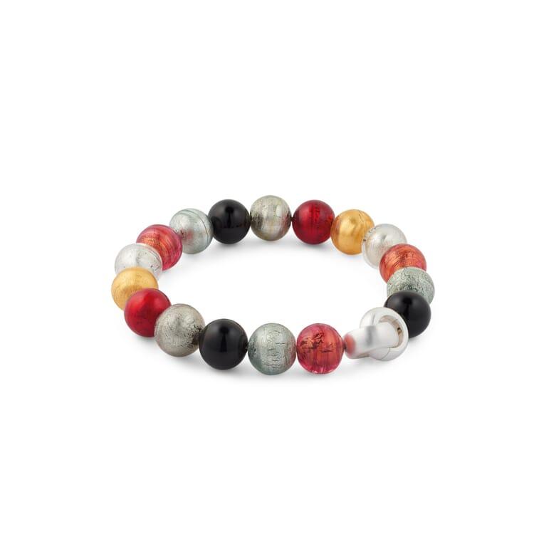 Armband Muranoglas, Mehrfarbig