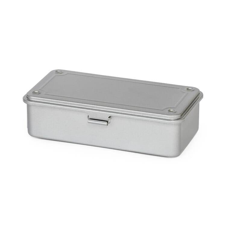 "Stackable Box ""Toyo"", Silver-Coloured"