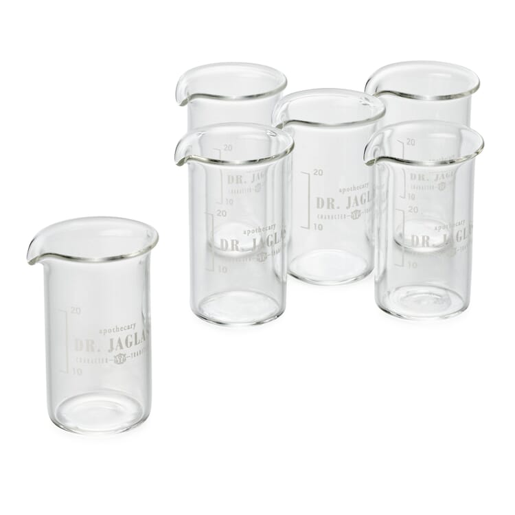 Tasting and Measuring Glasses by Dr. Jaglas