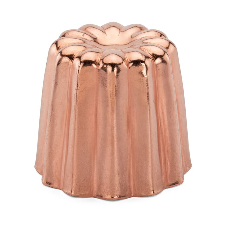 Baking Tin for Canelé Made of Copper