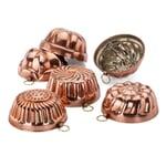 Backförmchen Kupfer verzinnt
