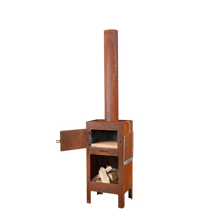 """Garden Stove """"Outdooroven"""" Made of Steel"""